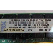 IBM 39M5811 39M5812 2Gb (2048Mb) DDR2 ECC Reg memory (Новочебоксарск)