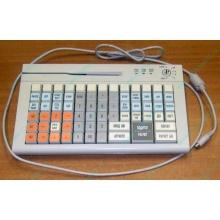 POS-клавиатура HENG YU S78A PS/2 белая (Новочебоксарск)